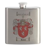 Ross Coat of Arms Flask