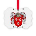 Ross Coat of Arms Picture Ornament