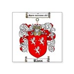 Ross Coat of Arms Square Sticker 3