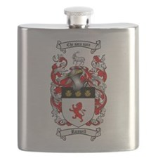 Russell Coat of Arms Flask