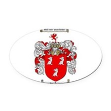 Ryan Coat of Arms Oval Car Magnet