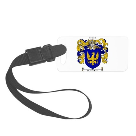 Sanchez Coat of Arms Small Luggage Tag