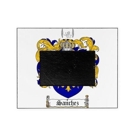 Sanchez Coat of Arms Picture Frame