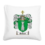 Salazar Coat of Arms Square Canvas Pillow