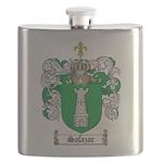 Salazar Coat of Arms Flask