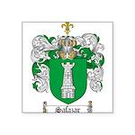 Salazar Coat of Arms Square Sticker 3