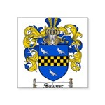 Sawyer Coat of Arms Square Sticker 3