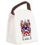 Saunders Coat of Arms Canvas Lunch Bag