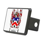 Saunders Coat of Arms Rectangular Hitch Cover