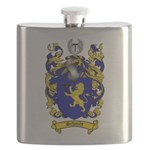 Schmidt Coat of Arms Flask