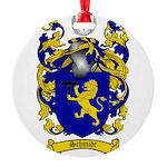Schmidt Coat of Arms Round Ornament