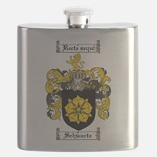 Schwartz Coat of Arms Flask
