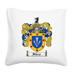 Sharp Coat of Arms Square Canvas Pillow