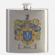 Sharp Coat of Arms Flask