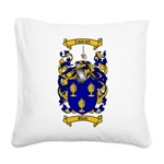 Shaw Coat of Arms Square Canvas Pillow