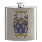 Shaw Coat of Arms Flask