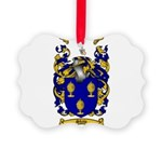 Shaw Coat of Arms Picture Ornament