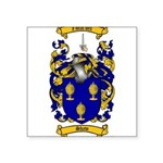 Shaw Coat of Arms Square Sticker 3