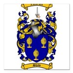 Shaw Coat of Arms Square Car Magnet 3