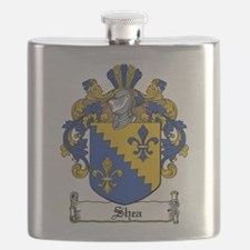 Shea Coat of Arms Flask