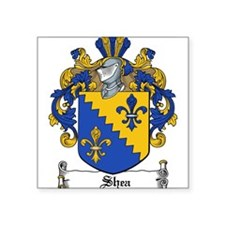 "Shea Coat of Arms Square Sticker 3"" x 3"""