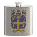 Shelton Coat of Arms Flask
