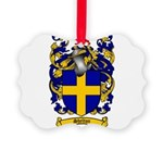 Shelton Coat of Arms Picture Ornament