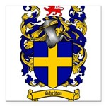 Shelton Coat of Arms Square Car Magnet 3