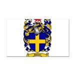Shelton Coat of Arms Rectangle Car Magnet