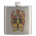 Simmons Coat of Arms Flask
