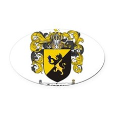 Simpson Coat of Arms Oval Car Magnet