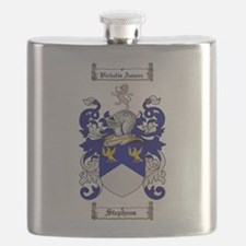Stephens Coat of Arms Flask