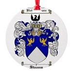 Stevens Coat of Arms Round Ornament