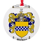 Stewart Coat of Arms Round Ornament