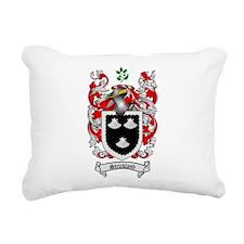 Strickland Coat of Arms Rectangular Canvas Pillow