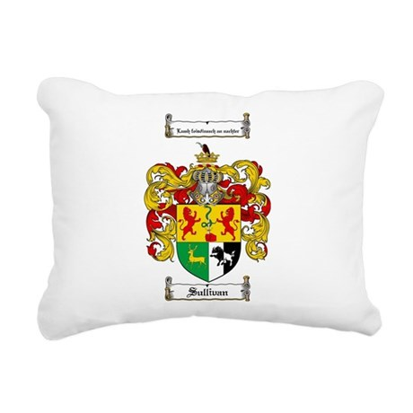 Sullivan Coat of Arms Rectangular Canvas Pillow