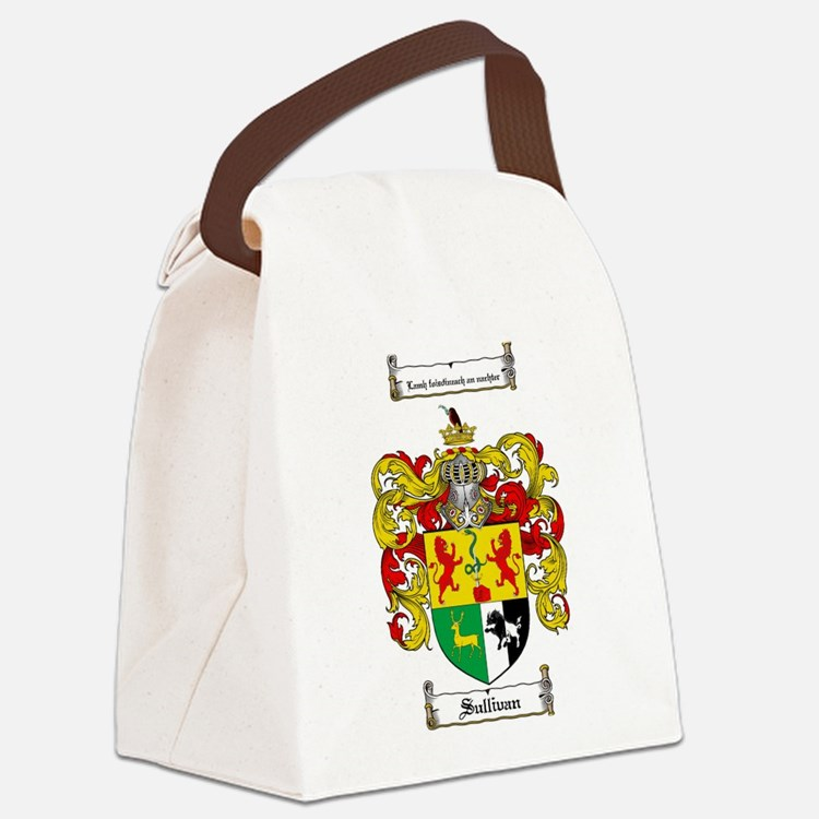 Sullivan Coat of Arms Canvas Lunch Bag