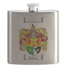 Sullivan Coat of Arms Flask