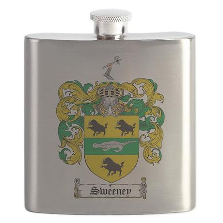 Sweeney Coat of Arms Flask