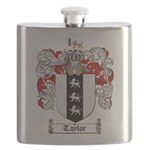 Taylor Coat of Arms Flask