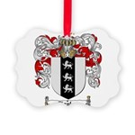 Taylor Coat of Arms Picture Ornament