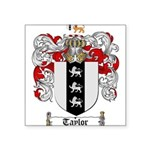 Taylor Coat of Arms Square Sticker 3