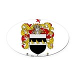 Thompson Coat of Arms Oval Car Magnet