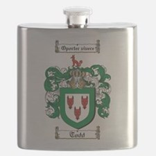 Todd Coat of Arms Flask
