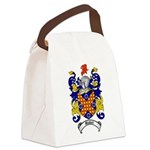 Waddell Coat of Arms Canvas Lunch Bag