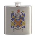 Waddell Coat of Arms Flask