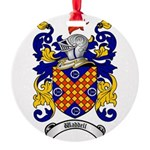 Waddell Coat of Arms Round Ornament