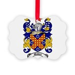Waddell Coat of Arms Picture Ornament