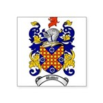 Waddell Coat of Arms Square Sticker 3