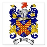 Waddell Coat of Arms Square Car Magnet 3